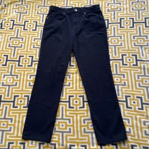 Style & Co Black Denim Natural Fit Jeans Womens 8